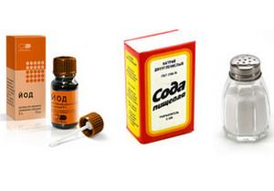 Полоскание горла содой, солью, йодом. Правила проведения процедуры.